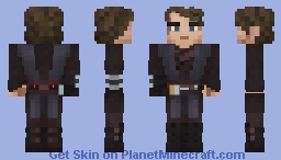 Anakin Skywalker (Revenge of the Sith) Minecraft Skin