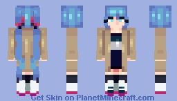 mikuwu + announcement kinda!! Minecraft Skin