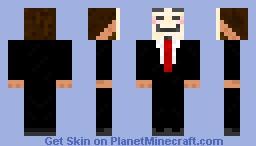 Anonymous Skin Minecraft Skin