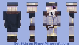 Train conductor Andrew Kreiss Minecraft Skin