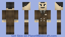 Andrew Ryan - Bioshock Minecraft Skin