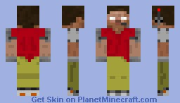 Drone (skin used for my Drones mod) Minecraft Skin