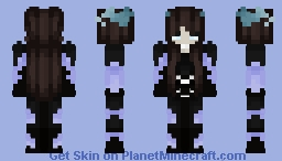the end ٩꒰´·⌢•`꒱۶⁼³₌₃ Minecraft Skin
