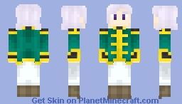 """Angelo Sauper (Gundam Unicorn) - """"This is it! The power that transcends humanity!"""" Minecraft Skin"""