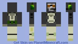 Ghost (MW2) Minecraft Skin