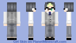 Raymond - {inspired by the Animal Crossing villager} Minecraft Skin
