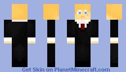 Guy in suit! Minecraft Skin