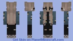 Aestethicc Minecraft Skin