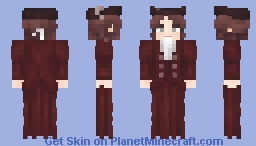 the Princess Imperial Minecraft Skin