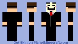 Anonymous Minecraft Skin
