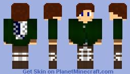 Attack on titan OC Minecraft Skin
