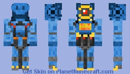 Apex legends pathfinder Minecraft Skin
