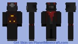 Apocalyptic Ravager [OC] Minecraft Skin