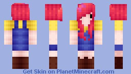Apple Bloom [skin series] Minecraft Skin