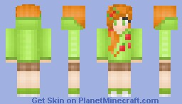 °ѕυgαя° AppleJack -MLP Collection! Minecraft Skin