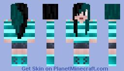 AquaMarine Minecraft Skin