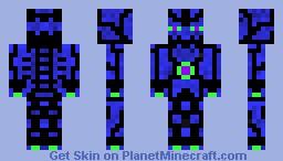 THE AQUOTIAN ENDERMAN KING OF AQUATAR Minecraft Skin