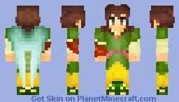 Saint Raphael Archangel Minecraft Skin