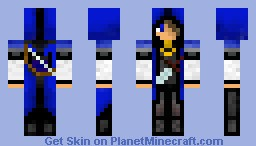 Blue Archer (Skin Competition)