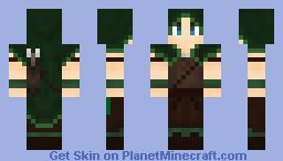 Elven archer - Male Minecraft Skin