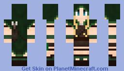 Elven archer - Hooded