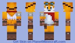 Archie Future Tails Minecraft Skin