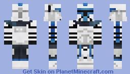 ARC Trooper Blue - Clone Wars (2003) Minecraft Skin