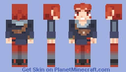Arezu (Pokémon Legends: Arceus) Minecraft Skin