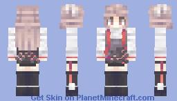 Arknights - Eyjafjalla Minecraft Skin