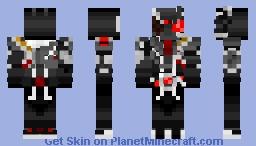 Kamen Rider Ark-Zero | 仮面ライダーアークゼロ Minecraft Skin