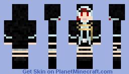 Nazca, from Armen Noir Minecraft Skin