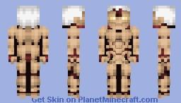 The Armored Titan Minecraft Skin