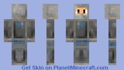 Shadus - The Armored Warrior (3D Armor) Minecraft Skin
