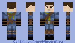 Armored Vault Jumpsuit Minecraft Skin