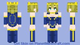Plz go away now ~ Artoria (without armour)👑 Minecraft Skin