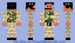 Airport Set - Air Force Pilot (better in 3D) Minecraft Skin