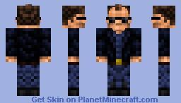 Arnold Schwarzenegger Minecraft Skin