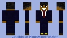 barrack obama(new version) Minecraft Skin