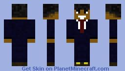 barrack obama(new version) Minecraft Skin