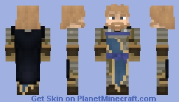 Last king and guild master. Minecraft Skin