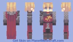 """𝐀𝐫𝐭𝐡𝐮𝐫 // """"𝘕𝘰 𝘺𝘰𝘶𝘯𝘨 𝘮𝘢𝘯, 𝘯𝘰 𝘮𝘢𝘵𝘵𝘦𝘳 𝘩𝘰𝘸 𝘨𝘳𝘦𝘢𝘵, 𝘤𝘢𝘯 𝘬𝘯𝘰𝘸 𝘩𝘪𝘴 𝘥𝘦𝘴𝘵𝘪𝘯𝘺."""" Minecraft Skin"""