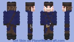 (𝕄𝕪𝕜𝕖𝕚) (ʀᴅʀ2) 𝕬𝖗𝖙𝖍𝖚𝖗 𝕸𝖔𝖗𝖌𝖆𝖓 with winter coat Minecraft Skin