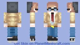 School boy - Artsy nerdy Minecraft Skin