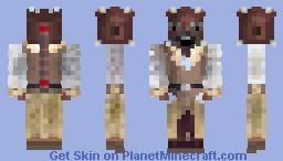 STAR WARS TUSKEN RAIDER JEDI (a'sharad hett) Minecraft Skin