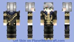 """𝒯𝒽𝑒 𝓎𝑒𝒶𝓇𝓈 𝐼 𝒽𝒶𝒹 𝓌𝒾𝓉𝒽 𝐿𝑜𝓃𝒶𝓉𝑜…𝓉𝒽𝑜𝓈𝑒 𝓌𝑒𝓇𝑒 𝓈𝑜𝓂𝑒 𝑜𝒻 𝓉𝒽𝑒 𝒷𝑒𝓈𝓉 𝑜𝒻 𝓂𝓎 𝓁𝒾𝒻𝑒."" [Fire Emblem: Three Houses | Ashe Ubert | Pre Timeskip] Minecraft Skin"