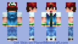 Ash Ketchum [Updated Shading] Minecraft