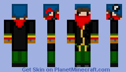 Blinky (Skiing clothes) Minecraft