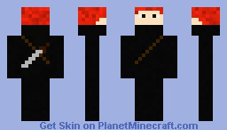 Evil Assassin (Fable 3) Minecraft Skin