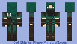 Rogue (Green with quiver) Minecraft