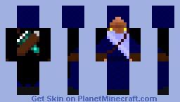 Blue Assassin Minecraft Skin